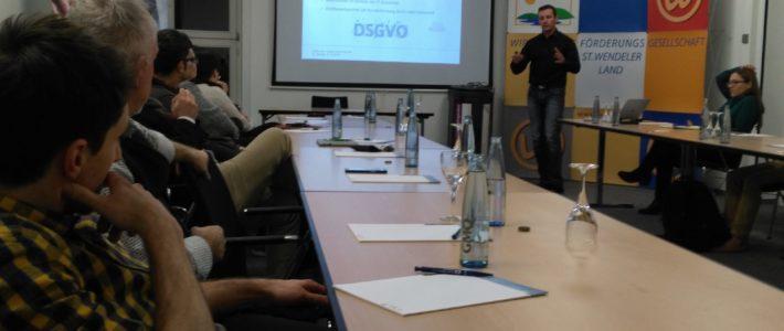 """Datenschutz und IT-Security im Unternehmen"""", im UTZ St. Wendel"""
