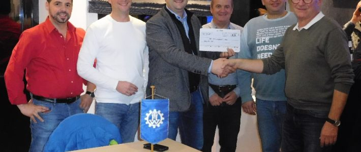 Gewerbeverein Schaumberg spendet an THW
